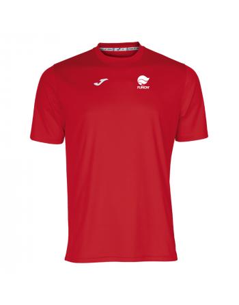 Camiseta técnica color rojo