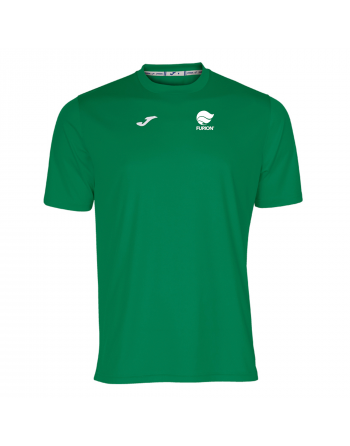 Camiseta técnica color verde
